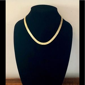 """Jewelry - 5/$25 18"""" Gold Nugget Elegant Chain Necklace"""